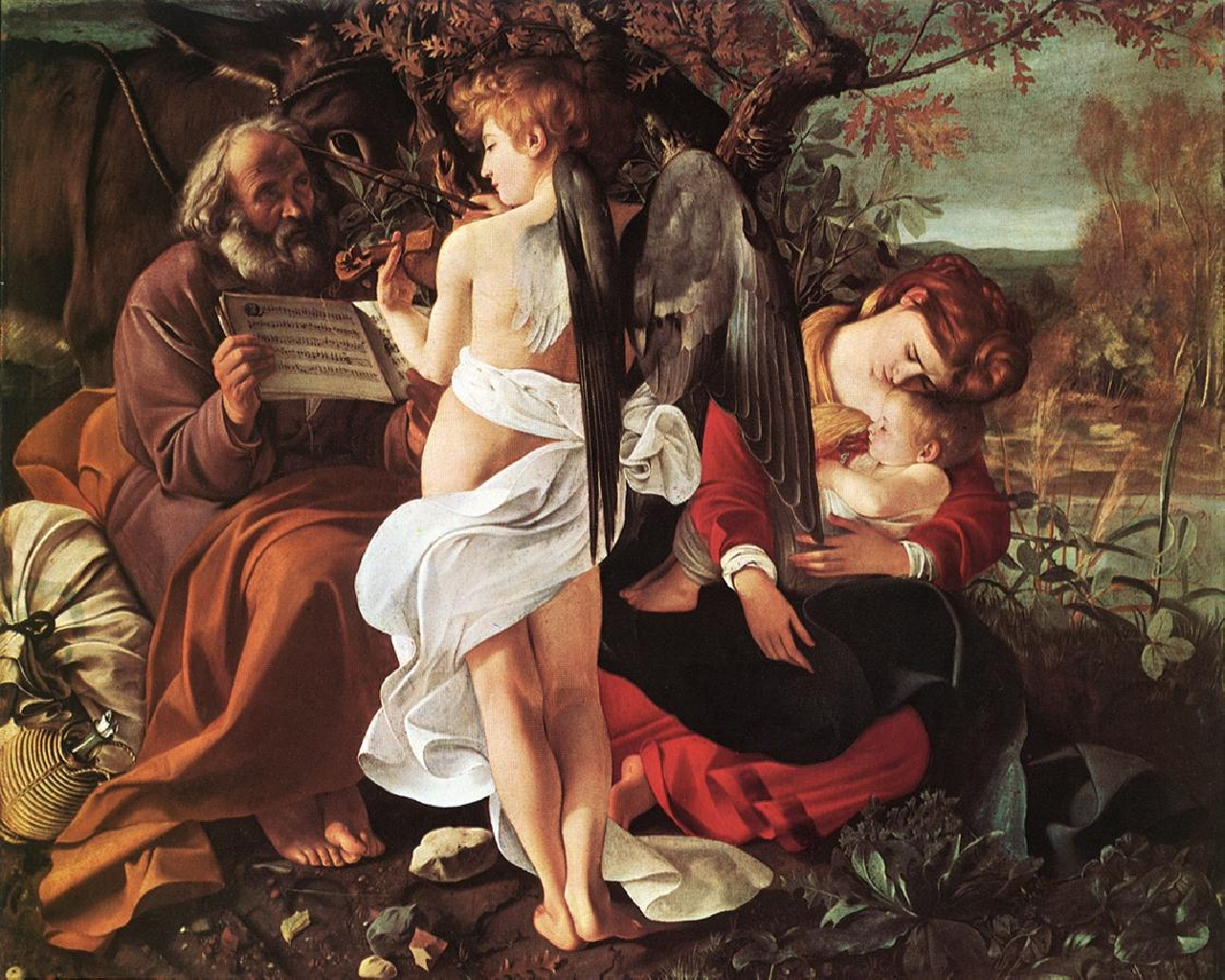 michelangelo_caravaggio_39_rest_on_the_flight_into_egypt