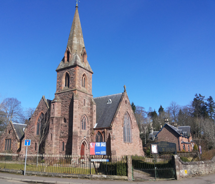 La Riverside Methodist Church de Blairgowrie