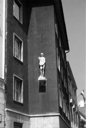 Escultura, Sopron, 2001