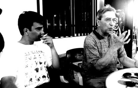 3 J.E.Espinosa y  V.N. hacia Lisboa 1998