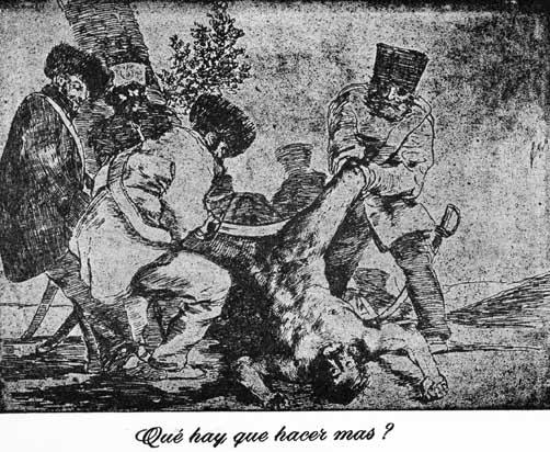 13 Goya (Las tragedias)