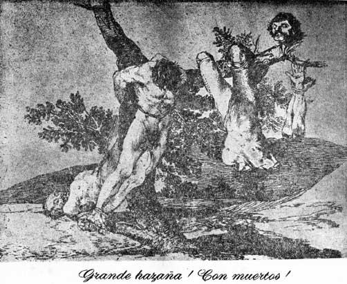 15 Goya (Las tragedias)