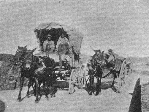 caravana de gitanos