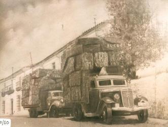 transporte de corcho