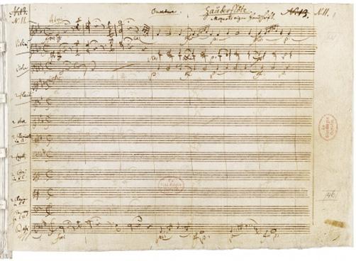 primera-pagina-autografa-de-la-flauta-magica
