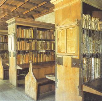 biblioteca de la catedral Hereford