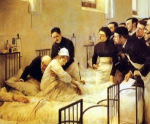 La_visita_al_hospital_de_Luis_Jiménez_Aranda