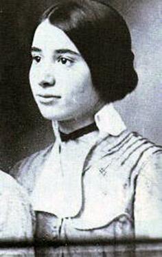 Ophelia con 19 años, en el tiempo en que la conoció Pessoa.