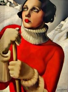 Saint Moritz. Tamara de Lempicka (1929)