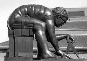 Newton por por Paolozzi 1995