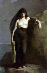Safo (Charles-Auguste Mengin, 1867)