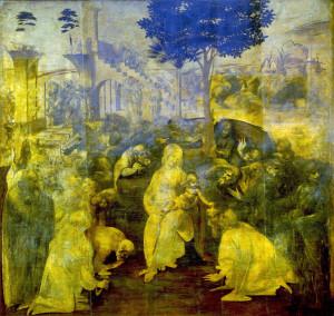 La adoración de los magos (Leonardo da Vinci)