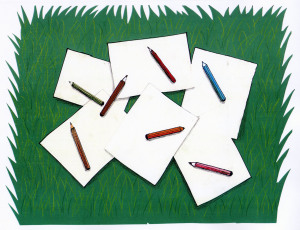 Nº 9 Hojas y lápices