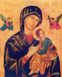 Nuestra Señora del Perpetuo Socorro (Icono s. IX o XII)