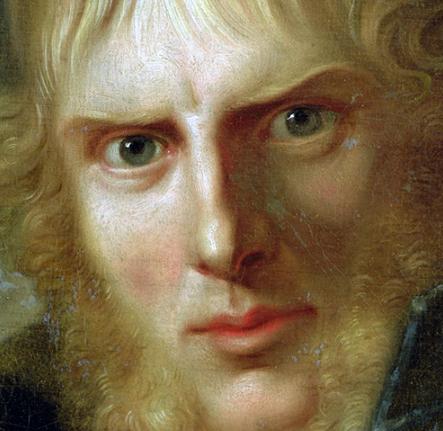 Caspar David Friedrich por Gerhard von Kügelgen