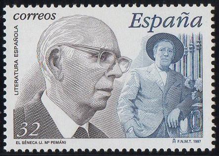 JOSÉ Mª PEMÁN (SELLO DE CORREOS)