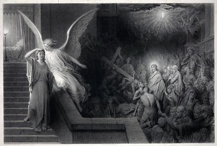 El sueño de la esposa de Pilato. Alphonse François
