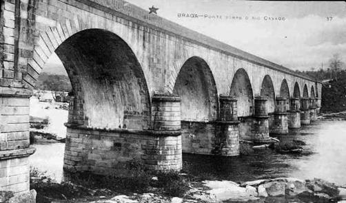 Puente sobre el Cavado (Braga)