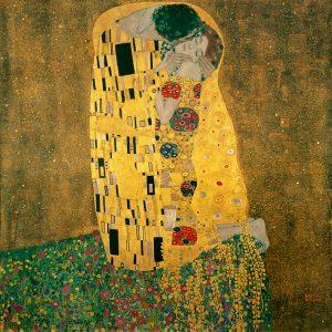 Gustav Klimt (el beso)
