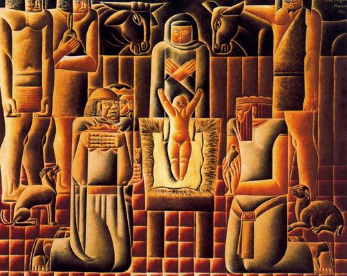Reyes Magos. Vicente Do Rego Monteiro 1925