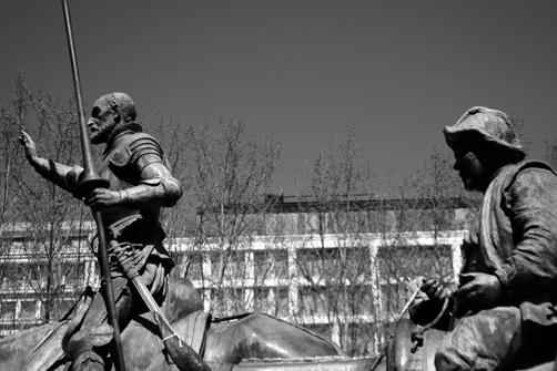 D. Quijote y Sancho (M. Verpi, Madrid 2016)