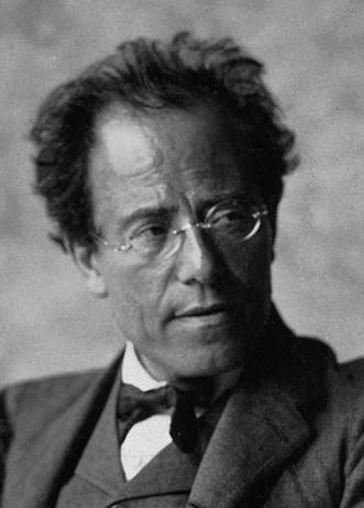 Gustav Mahler Viena 1907-Detalle-