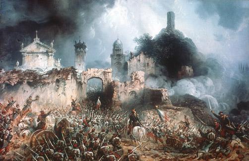 Batalla de Solferino. Carlo Bossoli