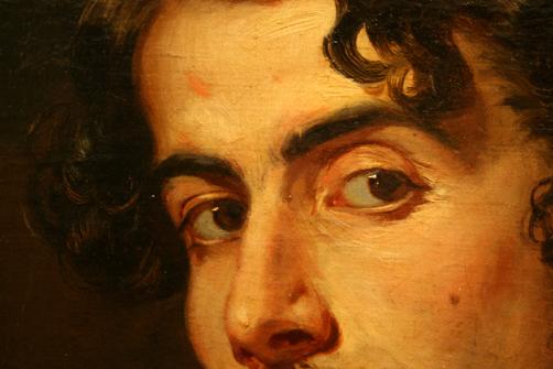 Retrato de Bécquer 1862